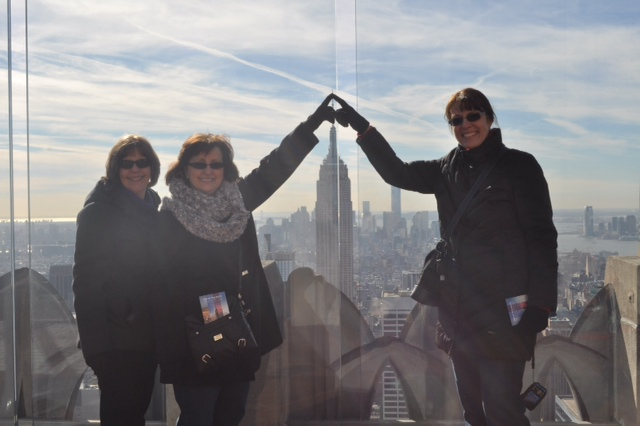 Carra, Debbie, and Heike in New York for 15th International Perforator Course